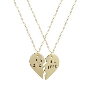 Jewelry - Soul Sisters heart necklace